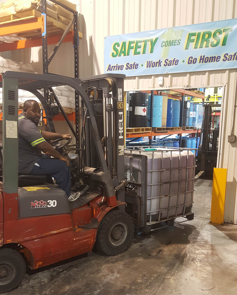 Sierra Chemical Forklift