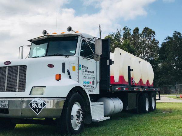Sierra Chemical Industrial Cleaning Truck