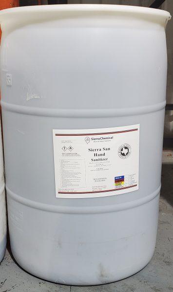 55 Gallon Drum Hand Sanitizer